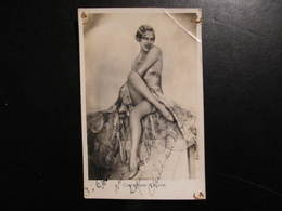 Carte Autographe - CHRISTIANE DELYNE  - POUR   DANIEL DUPONT MA SYMPATHIE - Autografi