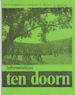 Brochure Informatieblad School OLVr Ten Doorn - Eeklo 1991 - Oude Documenten