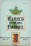 Brochure Informatieblad Eikels Worden Bomen - Sint Vincentiuscollege  - Eeklo 1955 - Oude Documenten