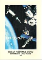 Brochure Eurospace Pour Un Programme Spatial Européen à Long Terme, 1984 - Libros, Revistas, Cómics