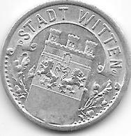 *notgeld Witten   10 Pfennig  1920  Alu   604.8 - Germany