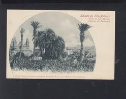 Tarjeta Las Palmas Vista 1901 - Gran Canaria