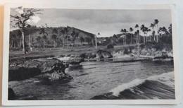 CPA île Trinté Trinidad Bord De Mer Années 50 Laboratoires Biomarine Plasmarine Docteur Leroux Villiers Charlemagne - Postkaarten