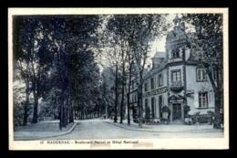 67 - HAGUENAU - BOULEVARD NESSEL ET HOTEL NATIONAL - Haguenau