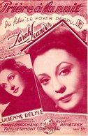 PARTITION ZARAH LEANDER - PRIERE A LA NUIT - 1943 - EXCELLENT ETAT - - Autres