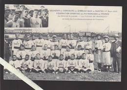 Nantes / Sport / Gymnastique / 3 Meilleurs Champions De La Fleche De Bordeaux, Aout 1909 - Nantes