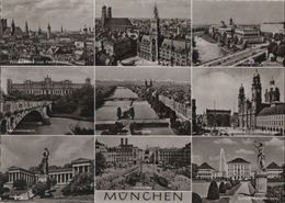 München - U.a. Isarpartie - 1963 - Muenchen
