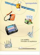 Brochure Aérospatiale Les Satellites : Innovation Et Expérience, 1984 ? - Libros, Revistas, Cómics