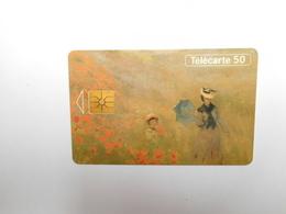 Télécarte Privée - Publique , 50U , En695 , Claude Monet - France