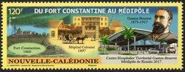 Nouvelle-Calédonie 2019 - Gaston Bourret, Hopitaux - 1 Val Neuf // Mnh - Neufs