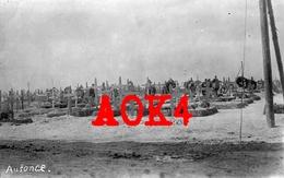 08 Ardennes AUSSONCE Cimetiere Allemand 1917 Champagne Tombes - Otros Municipios