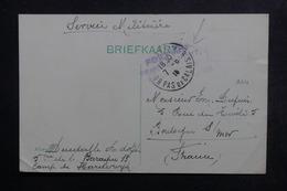 BELGIQUE - Carte De Correspondance Du Camp De Hardewyck En Franchise Pour La France En 1915 - L 48839 - WW I
