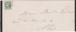 LSC - N°20 OBL. CàD PARIS A1 / 4 MARS 63 - Marcophilie (Lettres)