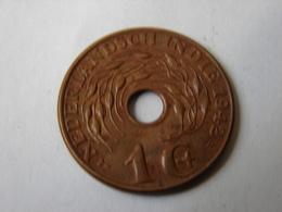 INDES NEERLANDAISES.  1 CENT 1942.P. - [ 4] Colonies