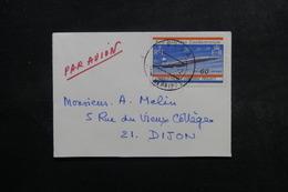 NOUVELLE HÉBRIDES - Enveloppe De Vila Pour La France En 1968, Affranchissement Plaisant ( Concorde) - L 48840 - Brieven En Documenten