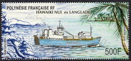 Polynésie Française 2019 - Bateau Hawaiki Niu Ex Langlade, Conjoint SPM - 1 Val Neuf // Mnh - Polynésie Française