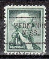 USA Precancel Vorausentwertung Preo, Locals Mississippi, Hernando 703 - Vereinigte Staaten