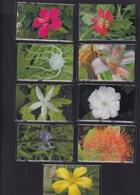 DIEGO GRCIA , DGA-R-10-18 ( 110-118)  9 CARDS , 2nd FLOWER SET , MINT , ALL CARDS  CN's.  00001 ( First Set Printed ) - Diego-Garcia