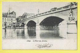 * Liège - Luik (La Wallonie) * Le Pont Des Arches, Bateau, Boat, Canal, Quai, Bridge, Brug, Rare, Old, CPA - Liège