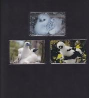 DIEGO GRCIA , DGA-R-05-07 ( 105-107 ) BIRDS SET , MINT , ALL CARDS  CN's.  00006 - Diego-Garcia
