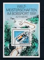 GERMANY Mi. Nr. Block 23 Weltmeisterschaften Im Bobsport, Altenberg - ESST Bonn - Used - [7] Repubblica Federale