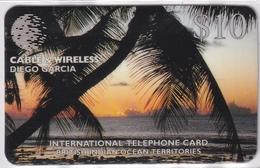 DIEGO GRCIA , DGA-R-30-16 , CANNON POINT 4 CARDS  , MINT , ALL CARDS  CN's.  00047 - Diego-Garcia