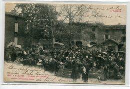 09 PAMIERS La Marché Aux Cochons  Sur La Place No 1237 Labouche L'Ariège - écrite 1919 D19 2019 - Pamiers