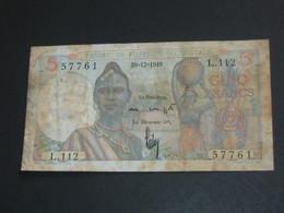 5 Francs 1949 - Banque De L'Afrique Occidentale **** EN ACHAT IMMEDIAT **** - Andere