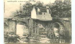 78* MANTES LA JOLIE Moulin Du Vieux Pont En 1860 (gravure) - Mantes La Jolie