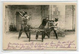 41 PONT LEVOY Carte RARe Piece De Théatre Le 7 Mai 1893 Scène Actteurs écrite En 1902   D19 2019 - Otros Municipios