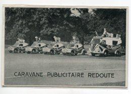 59 ROUBAIX Caravabe Publicitaire LA REDOUTE Automobiles 4CV RENAULT Et Fourgon Avec Animaux Sut Toits  1953   D19 2019 - Roubaix
