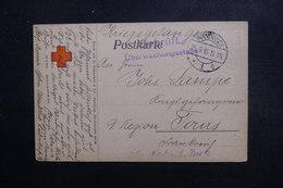 ALLEMAGNE - Carte Croix Rouge , De Wandsbek Pour Prisonnier En France En 1915 - L 48857 - Germany