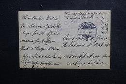 ALLEMAGNE - Carte Postale Pour Prisonnier En France En 1915 - L 48859 - Germany