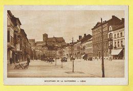* Liège - Luik (La Wallonie) * (Héliogravure R. Protin & F. Vuidar) Boulevard De La Sauvenière, Oldtimer Car Voiture - Liège