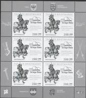 2017 Österreich Austria Mi. 3362 **MNH Schwarzdruck  Tag Der Briefmarke. Kurfürst Maximilian I. - Blocks & Sheetlets & Panes
