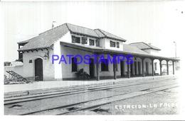 125638 ARGENTINA CORDOBA LA FALDA ESTACION DE TREN STATION TRAIN POSTAL POSTCARD - Argentina