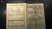 12b/4 - Journal Bulletin De La Bourse Aux Cuirs De Belgique 05 Janvier 1923 Avec Nombreuses Publicités - Oude Documenten