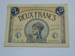 2 Francs 1920  Chambre De Commerce De Paris  **** EN ACHAT IMMEDIAT **** - Handelskammer