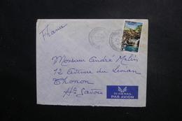 CAMBODGE - Enveloppe De Phnompen Pour La France En 1965, Affranchissement Plaisant - L 48866 - Cambodge
