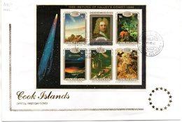 Carta De Cook Island Con Hb-165. - Astrologie