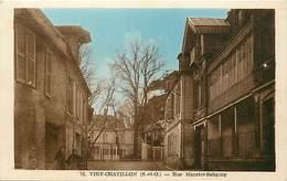 Dpts Div.-ref-AP337- Essonne - Viry Châtillon - Rue Maurice Sabatier - Carte Bon Etat - - Viry-Châtillon