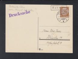 Dt. Reich PK Kastemstempel Rakwitz Nach München - Briefe U. Dokumente