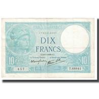 France, 10 Francs, Minerve, 1939, P. Rousseau And R. Favre-Gilly, 1939-04-06 - 1871-1952 Antichi Franchi Circolanti Nel XX Secolo