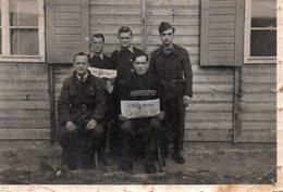 Photo De Prisonniers Militaires En Stalag 62 ? - Guerra, Militares