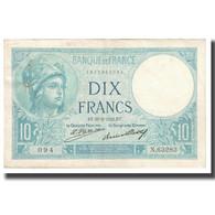 France, 10 Francs, Minerve, 1932, Platet Strohl, 1932-02-25, TTB, Fayette:6.16 - 1871-1952 Antichi Franchi Circolanti Nel XX Secolo