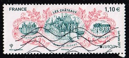 Frankreich 2017,Michel# 6746, Yt# 5143 O Europa (C.E.P.T.) 2017 - Castles: Chambord-Azay Le Rideau-Chenonceau - Frankreich