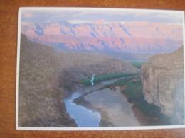 USA TX Big Bend Mountains National Park USED - Big Bend