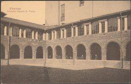 Chiostro Ospizio San Pietro, Vicenza, C.1910s - Chiovato Cartolina - Vicenza