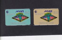 DIEGO GRCIA , DGA-R-59 & 60 , US NAVY MWR , MINT , CN's  00030 - Diego-Garcia