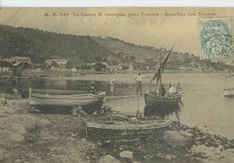 Saint-Mandrier- Creux Saint-Georges- Quartier Des Russes ***Magnifique Cpa De 1905 Pas Courante *** Ed.M.B N° 240 - Saint-Mandrier-sur-Mer